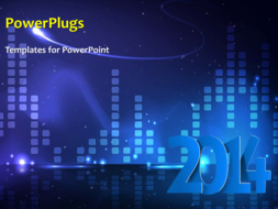 PowerPoint Template - Abstract New Year Background